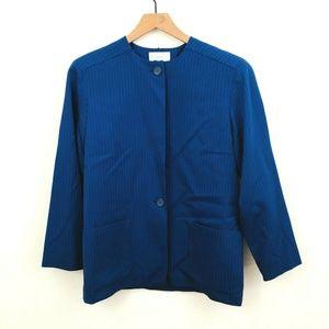 Christian Dior Vintage Stripe Blazer Jacket 10